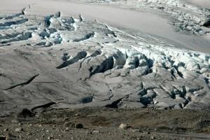 Bresprekker på bunnen av Blåisen. Foto: Ellen Viste (CC)