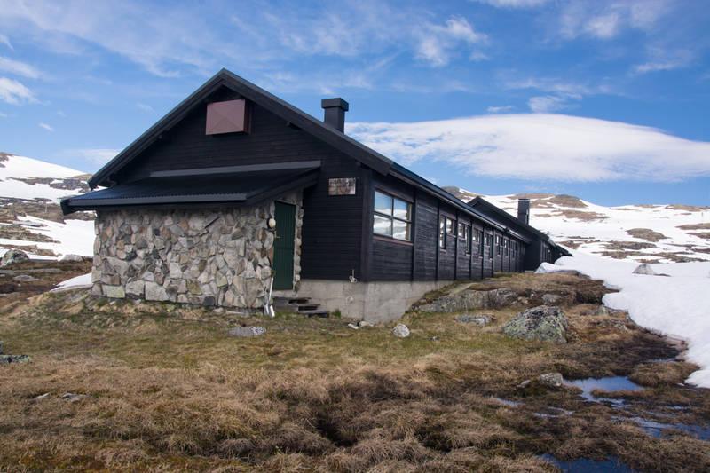 Finse alpine forskningsstasjon Foto: Ellen Viste (CC)